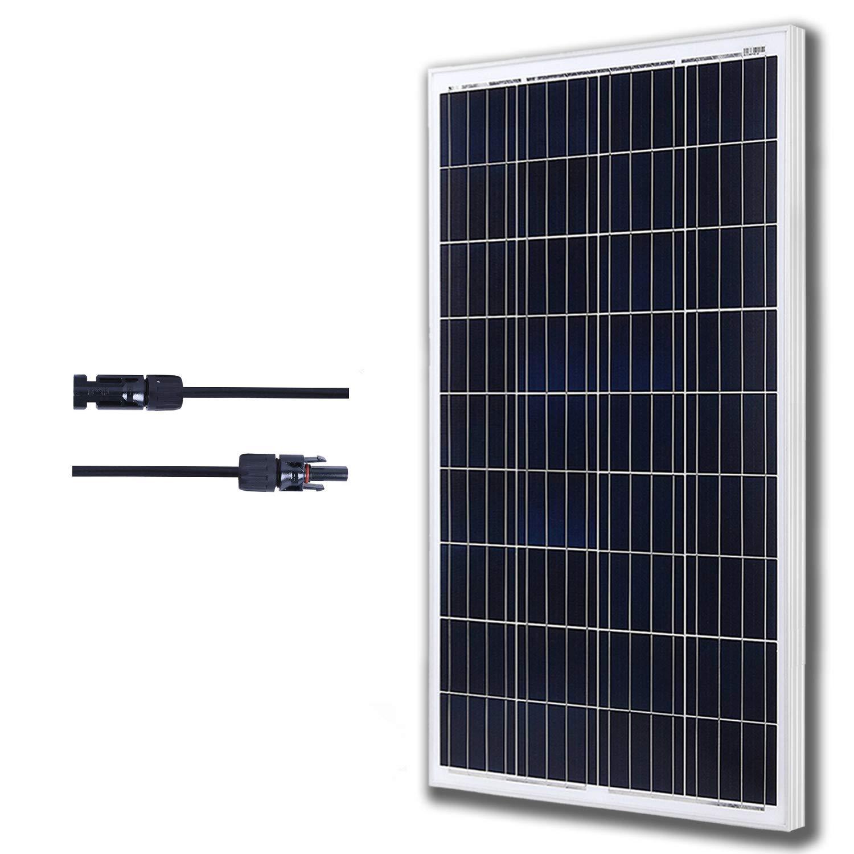 Momaes Polycrystalline 100 Watts 12 volts Solar Panel