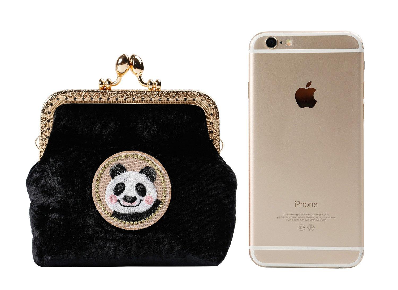 Kigurumi Womens Japanese Style Coin Silk Wallet Cosmetic Bag by Kigurumi (Image #7)
