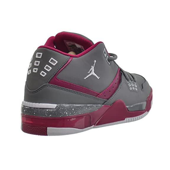 10184b250325c8 Amazon.com  Jordan Flight 23 GG Big Kids  Shoes Cool Grey White-Sport  Fuchsia 768910-026  Shoes