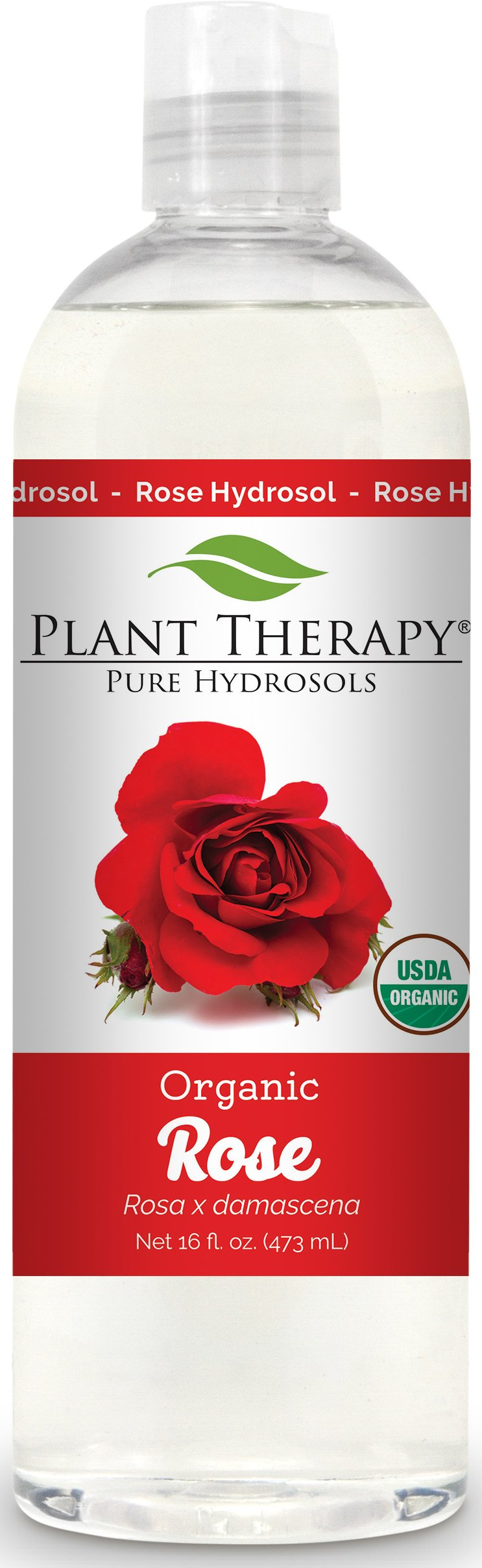 Plant Therapy Rose Organic Hydrosol 16 oz By-Product of Essential Oils by Plant Therapy