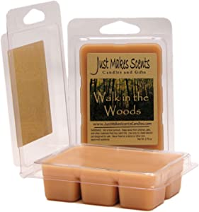Just Makes Scents 2 Pack - Walk in The Woods Scented Blended Soy Wax Melts