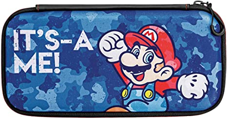 PDP - Funda Slim Travel Case Edición Mario Camo (Nintendo Switch): Amazon.es: Videojuegos
