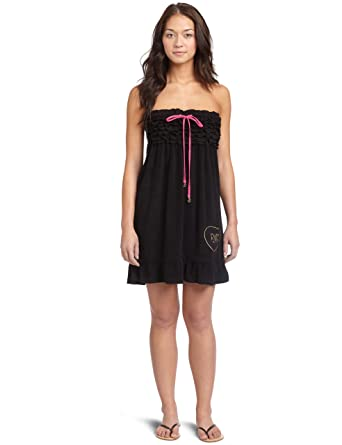 ea2d71c491 Amazon.com: Rocawear Women's Smocked Terry Cover Up Dress: Clothing