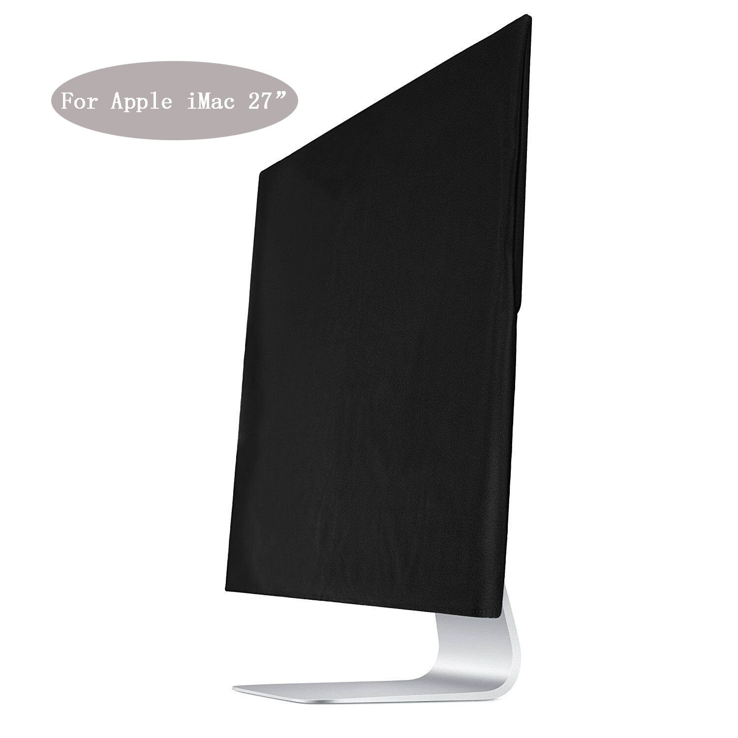 ASYOU Black Dust Screen Cover Sleeve for Apple iMac 27 Dust Cover,Display Protector(A1312 & A1419)