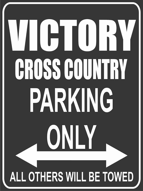 Parking Only Parkplatz Parkplatzschild Victory Cross Country