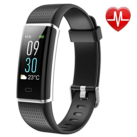 Buy YANROAD Fitness Tracker with Heart Rate Monitor, Color Screen