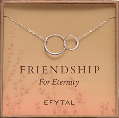 An Eternity Friendship Necklace
