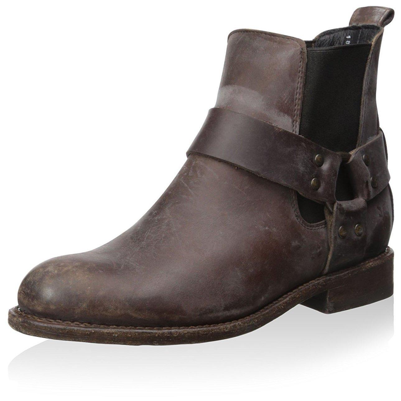 FRYE Women's Jayden Harness Ankle Boot, Espresso, 6 M US