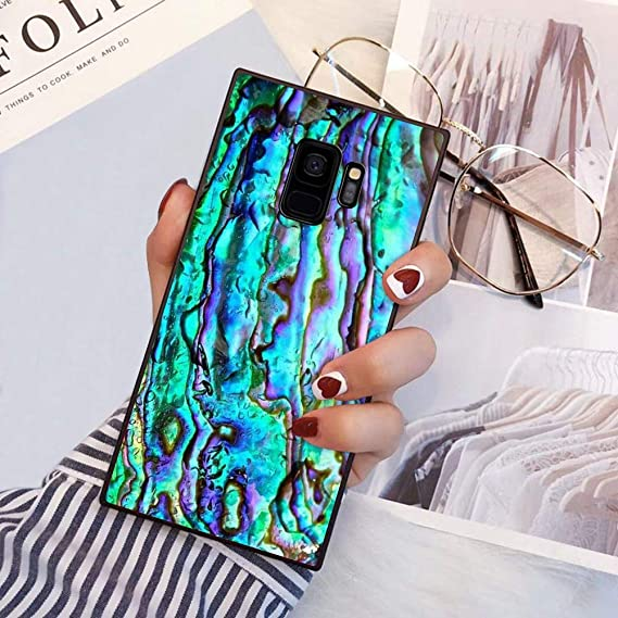 Amazon com: YaoLang Samsung Galaxy S9 Plus Square Edges Case