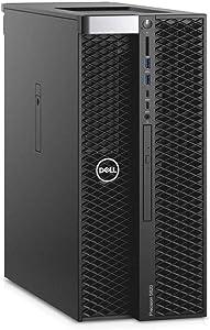 Dell Precision T5820 Workstation Intel Xeon W-2195 2.30GHz (Up to 4.30GHz) 18-Core 24.75MB CPU 128GB DDR4-2666MHz RDIMM Memory 2x1TB NVMe PCIe SSD 2x4TB 7200RPM SAS 3.5in HDD NVIDIA Quadro P5000 16GB