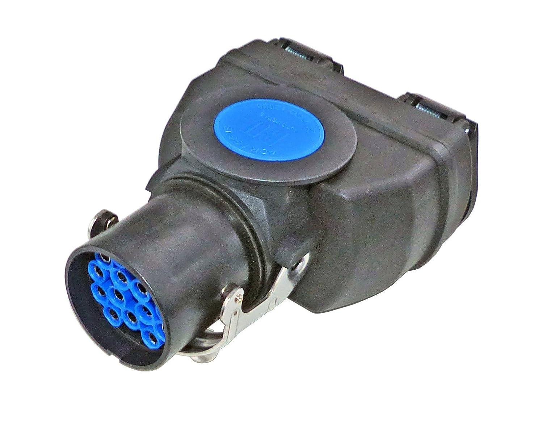 LKW Kurzadapter//Adapter von 15 polig auf 2X 7 polig