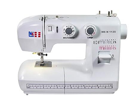 W6 N 1135 Máquina de coser – Máquina de coser de brazo libre Super Nutz punto