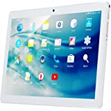 """Kivors 10.1"""" Inch 3G Touch Tablet PC - Android 7.0-2GB RAM + 32GB ROM - Quad Core Unlocked 3G Cell Phone Tablets - 1280x800 HD - Dual Camera - Dual Sim Card Slots, Wifi, GPS, Bluetooth 4.0 (RoseGold)"""