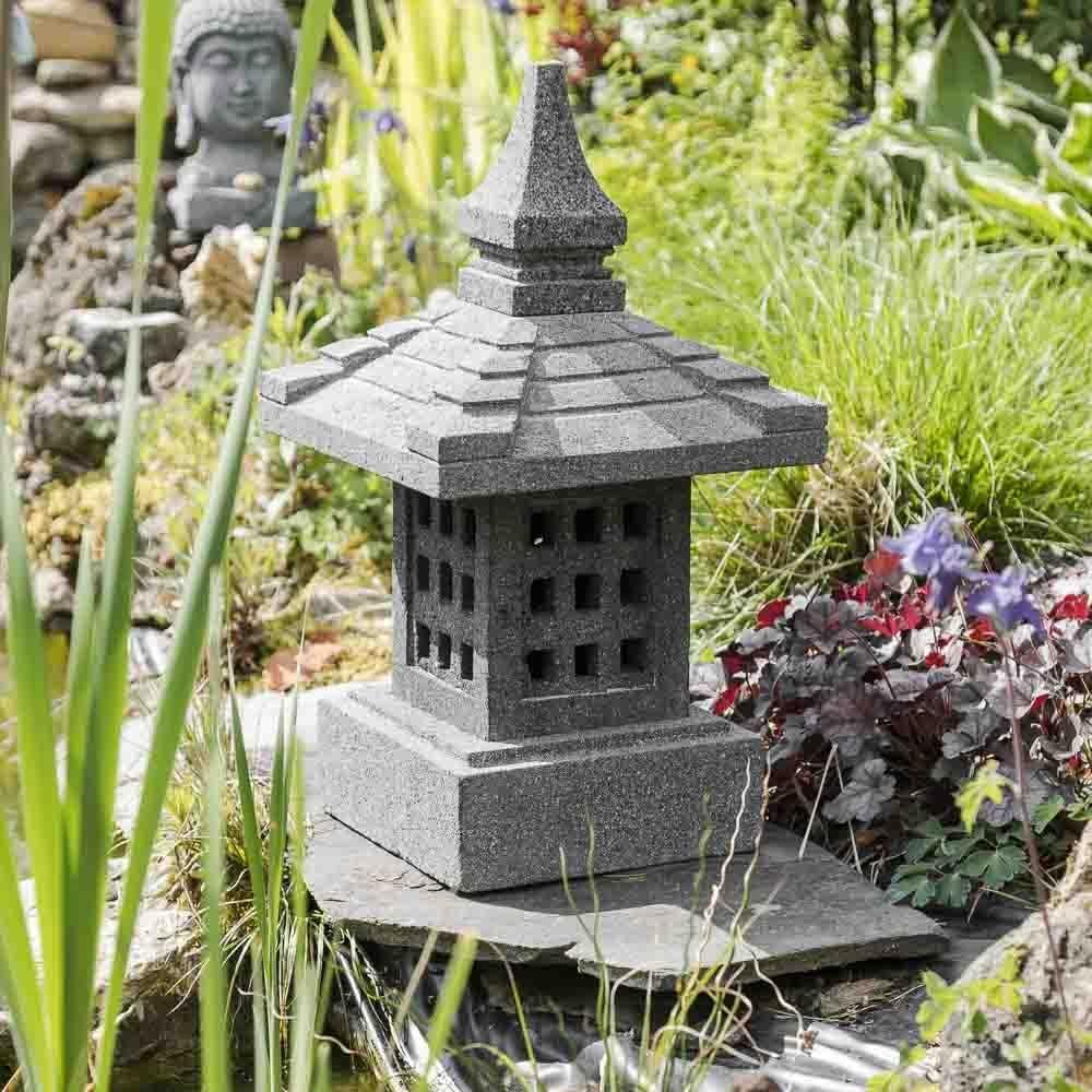 Wanda collection Linterna Japonesa Piedra de Lava 55 cm: Amazon.es: Jardín
