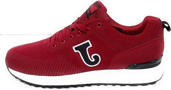 Joma C.800, Zapatilla, Red-Black, Talla 10.5 US (44 EU): Amazon.es: Zapatos y complementos