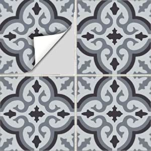 Black Grey Line Stripe Style Motif Home Decor Light Switch Sticker Cover