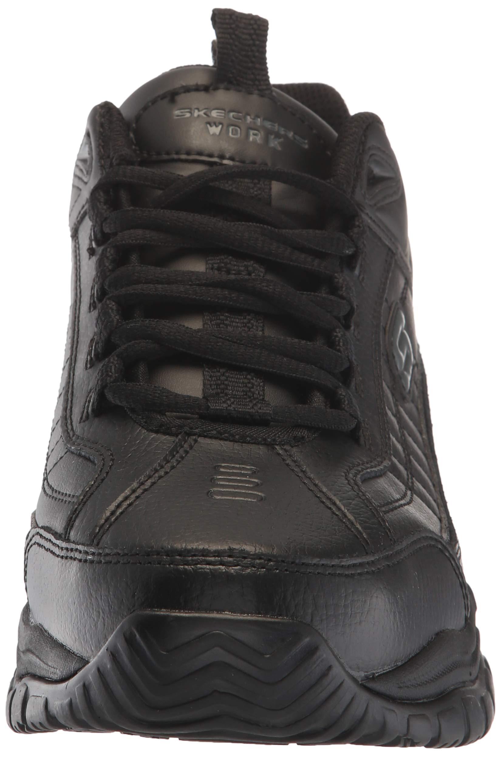 Skechers Men's Soft Stride - Galley Black Smooth Lthr/Midsole 8 EW by Skechers (Image #4)