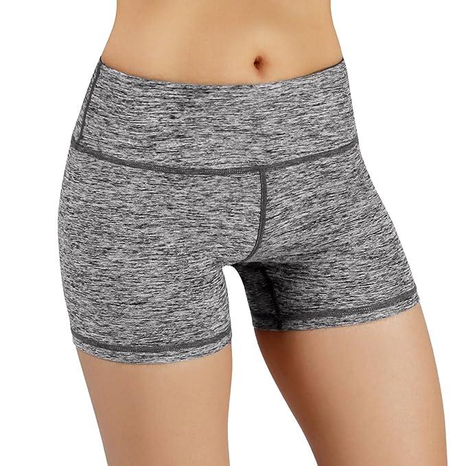 Amazon.com: ODODOS - Pantalones cortos de yoga para mujer ...