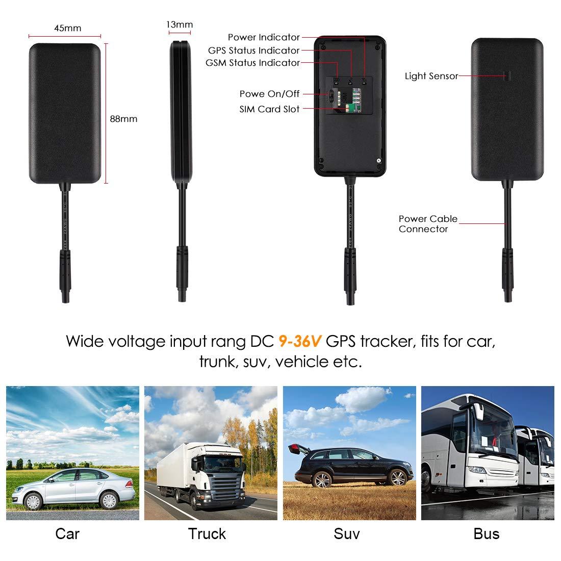 Amazon.com: MiCODUS GPS Tracker para vehículos, 3G coche GPS ...