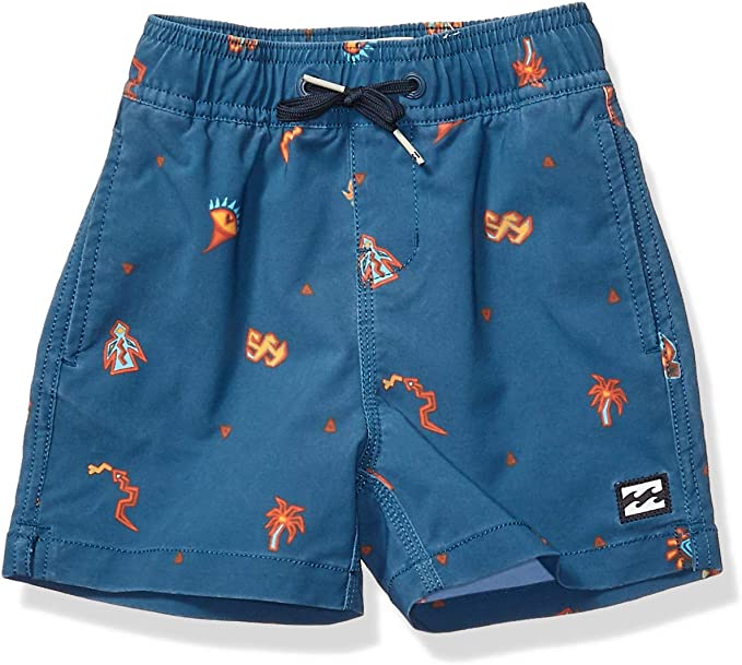 Billabong Boys Little Sundays Layback Boardshort