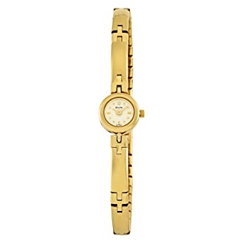 Amazon.com: Bulova Reloj de 97t62 Champán pulsera para mujer ...