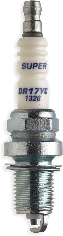 Universal GM577616606 Bujía DR17YC, SGO006 de motor pequeño para cortacésped y tractores para jardín, optimo comportamiento de arranque, accesorios McCulloch, Standard