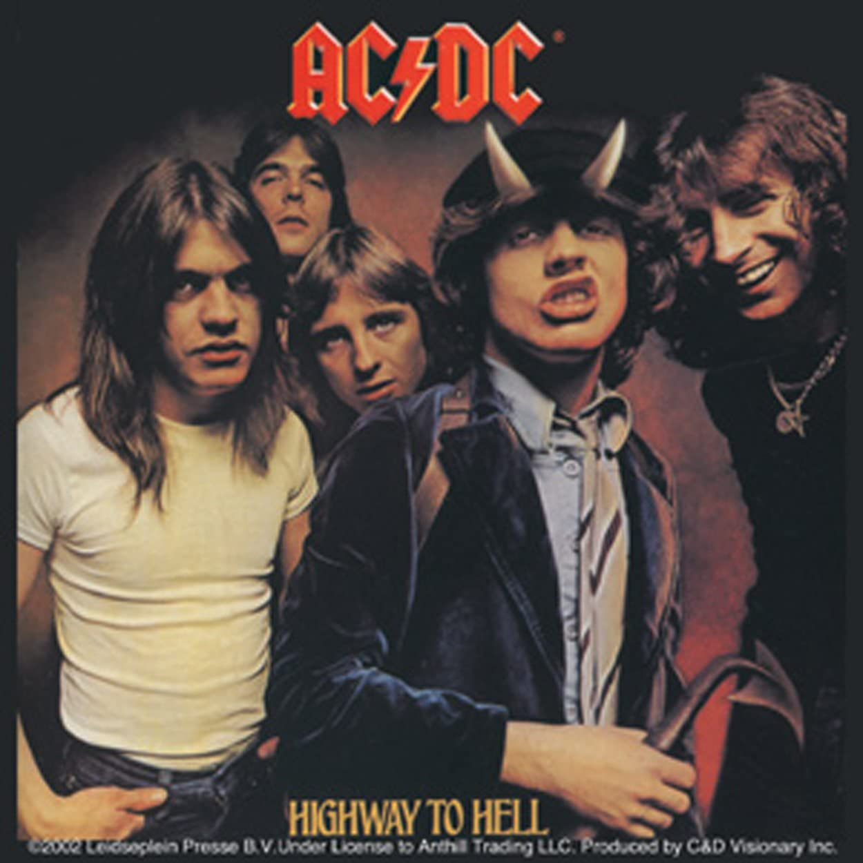 Licenses Products AC/DC Highway To Hell Sticker by Licenses ...