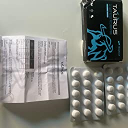 Taurus 100mg 30 Comprimidos   Efecto Inmediato, Duración Máxima, Sin Contraindicaciones, 100% Natural: Amazon.es: Salud y cuidado personal
