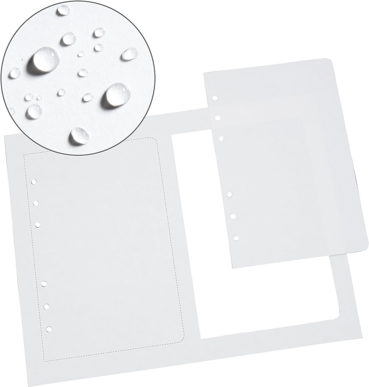 2-4 5//8 x 7 White Loose Leaf Sheets Per 8 1//2 x 11 Main Sheet 150 Sheet PK Rite in the Rain Weatherproof Loose Leaf Copier Paper No. LL8511