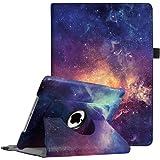 Fintie iPad 9.7 Zoll 2017 / iPad Air Hülle - 360 Grad Rotierend Stand Smart Cover Case Schutzhülle mit Auto Schlaf / Wach Funktion für Apple iPad 2017 9,7 Zoll / iPad Air 2013 Modell, Die Galaxie
