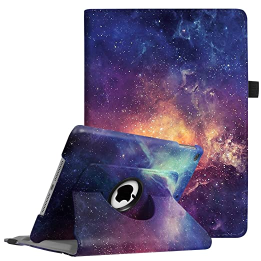 175 opinioni per Fintie Nuovo iPad 9.7 Pollici 2017 / iPad Air Custodia in pelle- Slim girevole