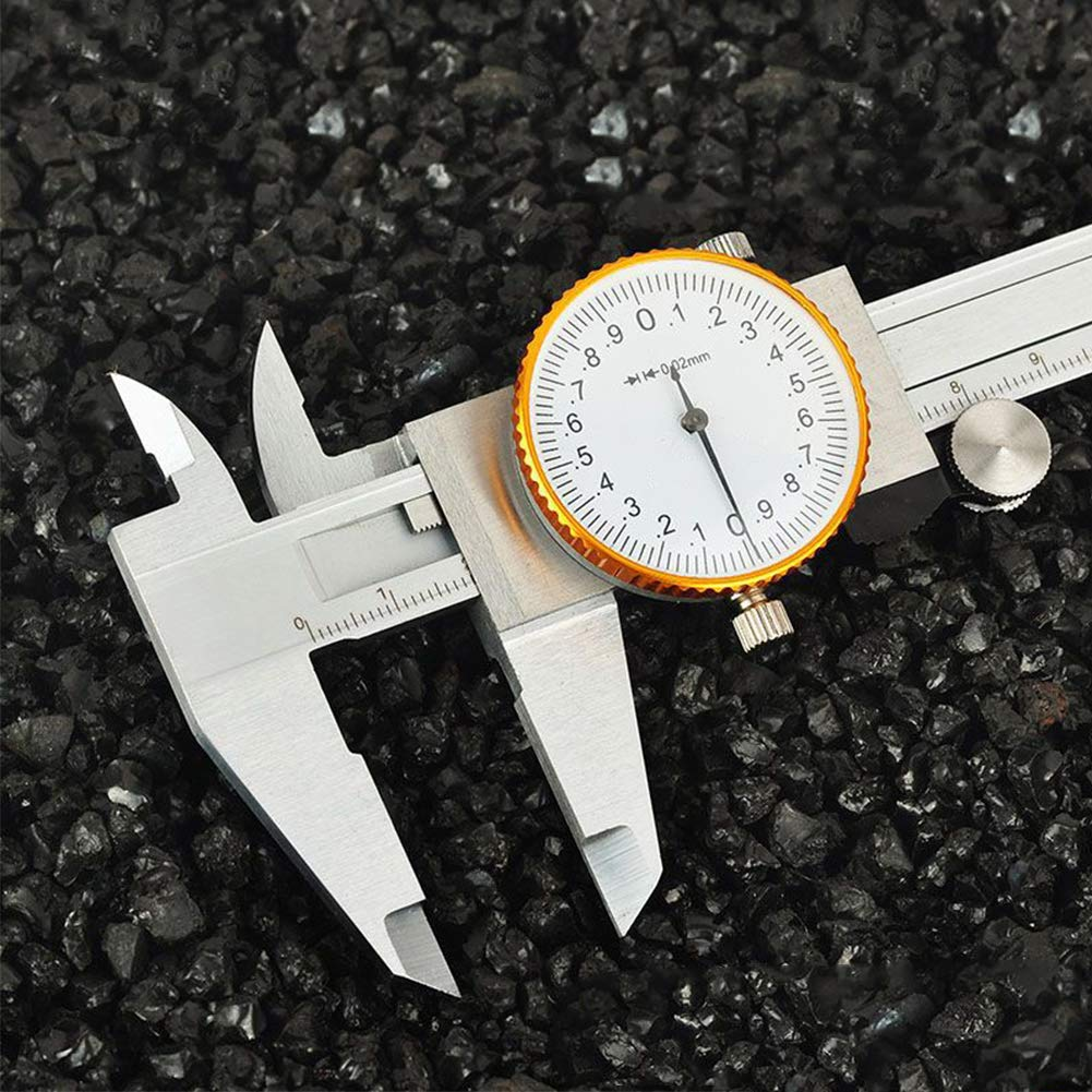 Dial Vernier Caliper Inside Diameter 0-150mm Vernier Caliper Gauge ...