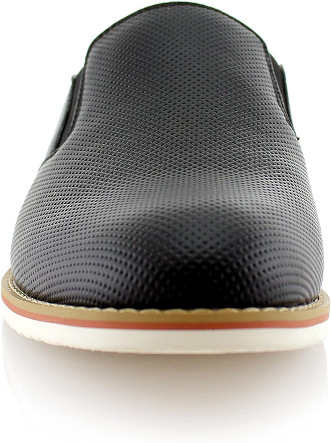 Ferro Aldo Mens Slip On Fashion Sneaker