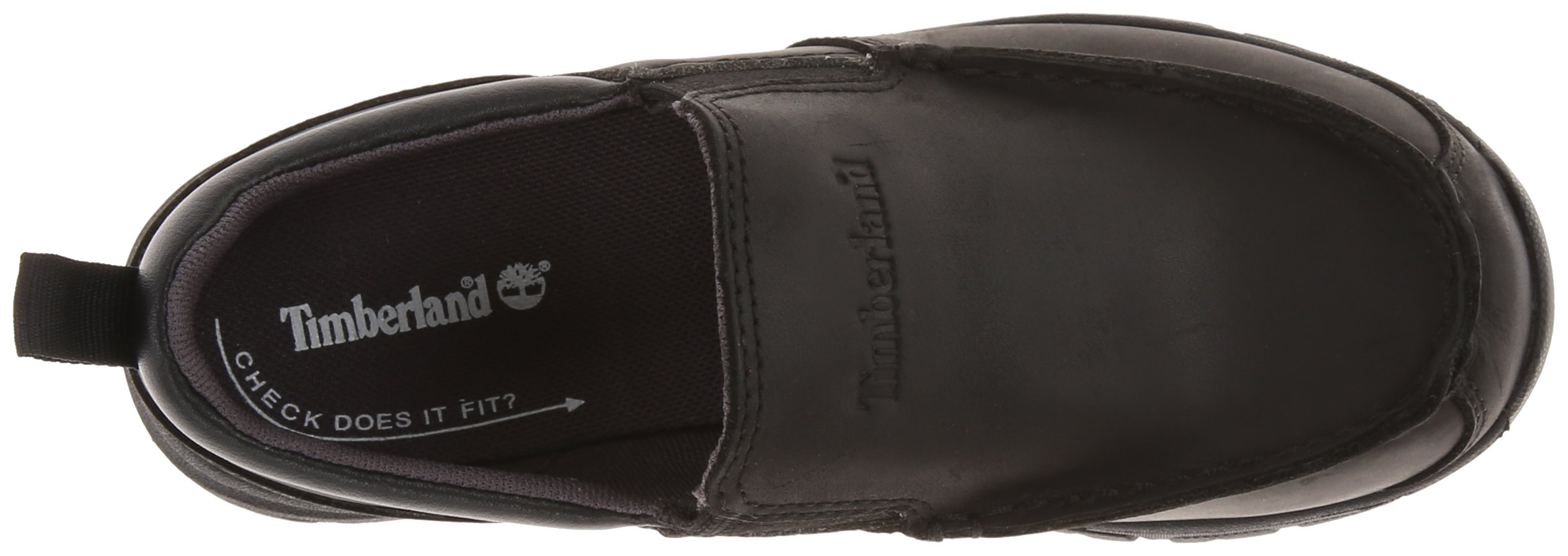 Timberland Discovery Pass Moc Toe Moc Toe Slip-On (Toddler/Little Kid/Big Kid),Black,9.5 M US Toddler by Timberland (Image #8)