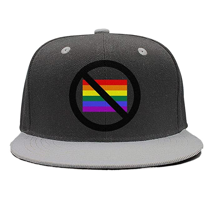 0d021f076 GAWOGM Unisex Men's Rainbow LGBT Flag Gay Pride parades Gray Cool ...