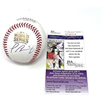 $125 » Javy Baez Chicago Cubs Signed Autograph Official WORLD SERIES MLB Baseball JSA Certified