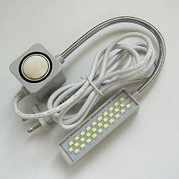 KUNPENG -1piezas #TD-30WPA Sewing Machine Light, tiene 30 bolas de luz puede ajustar el brillo PARA Singer, Consew, juki: Amazon.es: Hogar