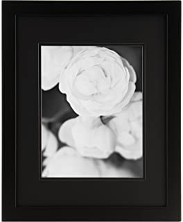 Amazoncom Gallery Solutions 11x14 Black Wood Wall Frame With