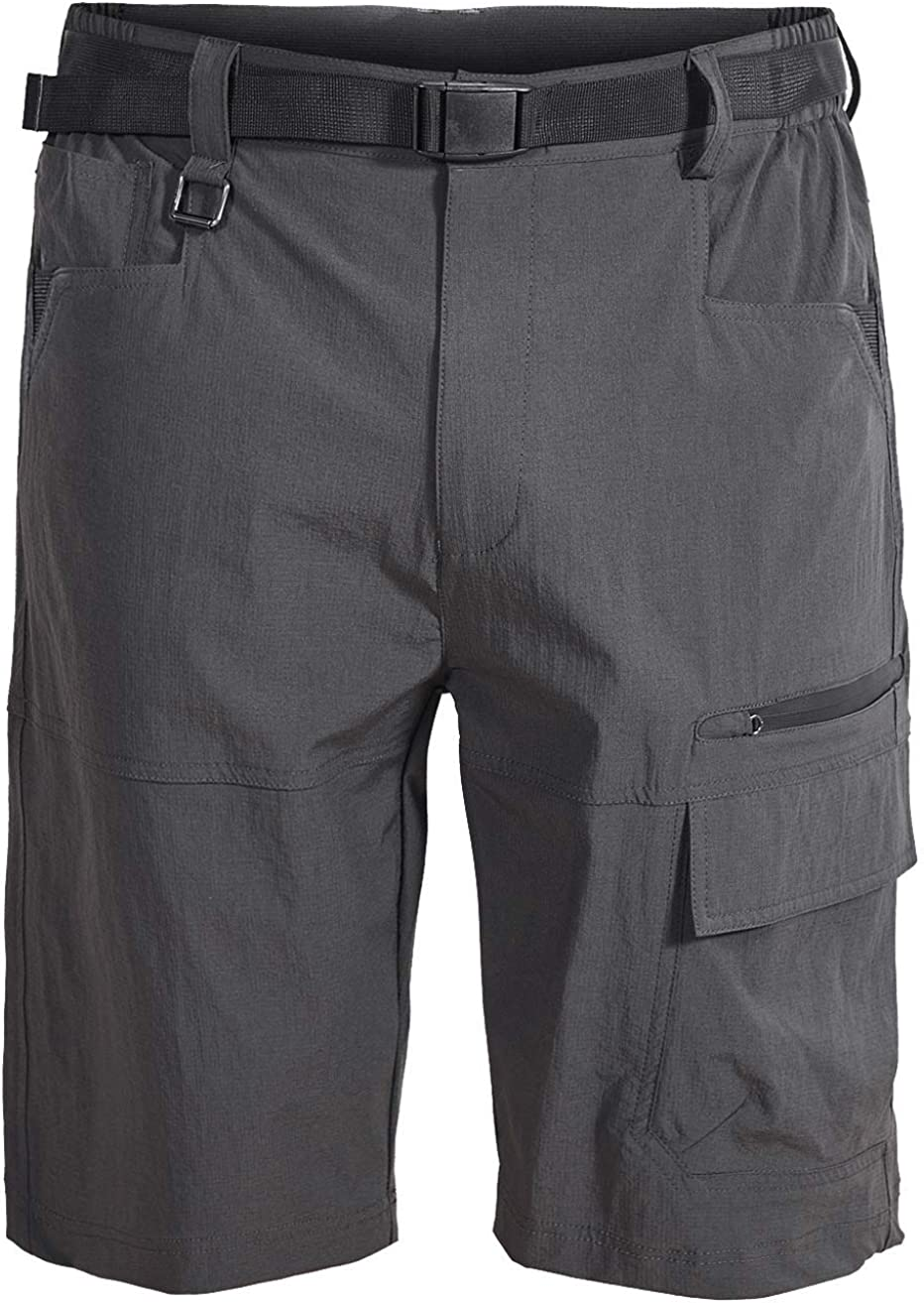 VtuAOL Mens Outdoor Lightweight Hiking Shorts Quick Dry Sports Casual Shorts
