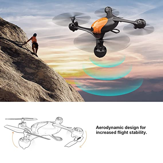 Baybee SS41 Drone - 1080P FPV HD Camera/Video and 720P Optical Flow Positioning Camera, RC Toy Quadcopter Equipped with Lost-Control Protection Technology Altitude Hold (SS41 Drone)