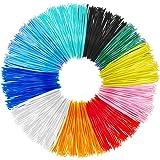 3D Filamento, Tecboss 3D Filament 1.75mm PLA 3D Penna Filamento Materiali per la stampa 3D 10 Pezzi