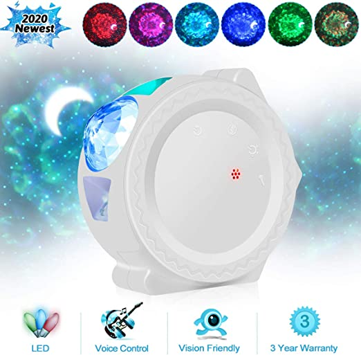 Starry Sky Proyector LED Nebula Nube Noche Luz 6 Colores Ocean ...