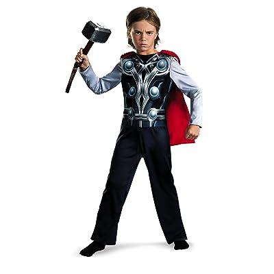 Thor Avengers Basic Costume, Small 4-6: Clothing