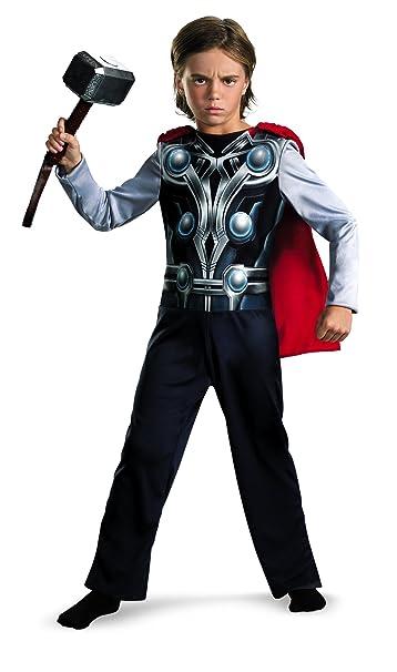 Amazon.com: Disfraz de Thor Vengadores Basic, Como se ...