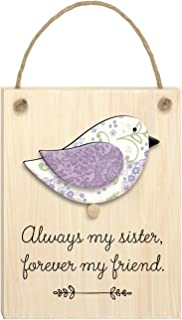 "product image for Imagine Design 3.5""x 6"" Sister Chirps Plaque"