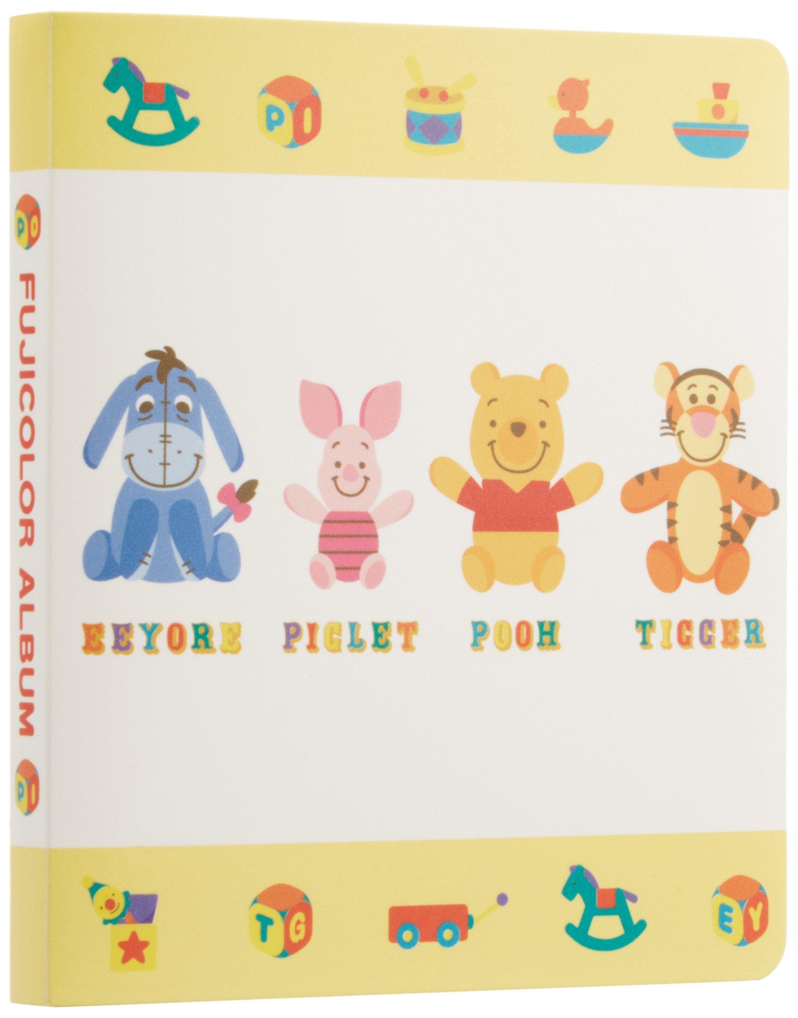 Fuji Disney Pooh Photo Album for Fuji Instax Mini 7s /50s/ Polaroid Mio /300 Lomo Diana Back Cameras