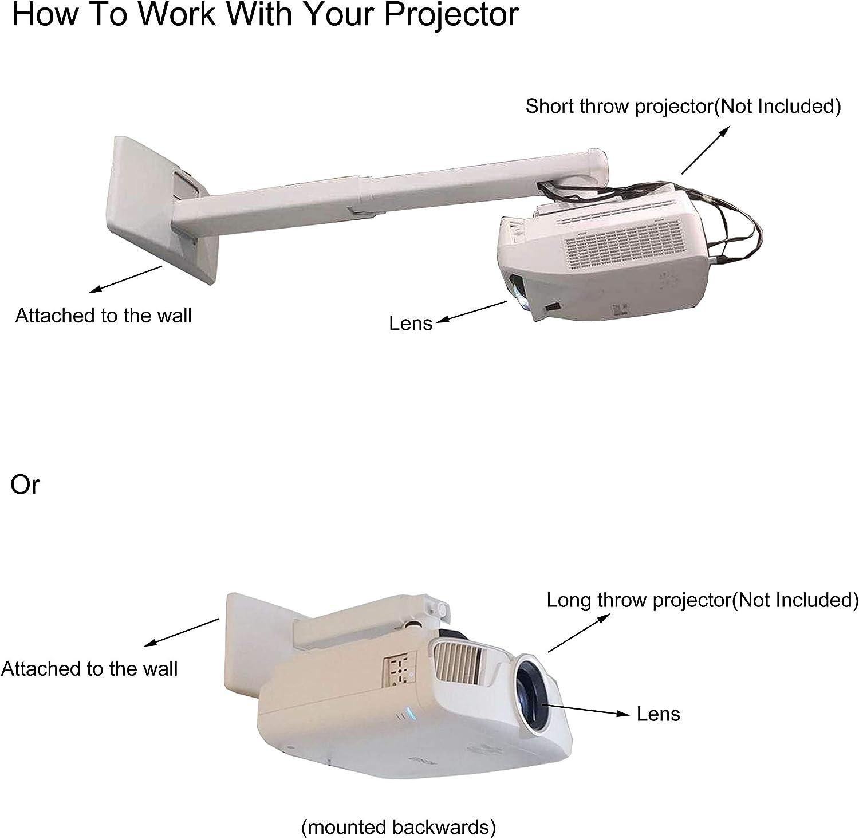 Soporte de Pared para proyectores (Ultra) de proyección Corta, con ...