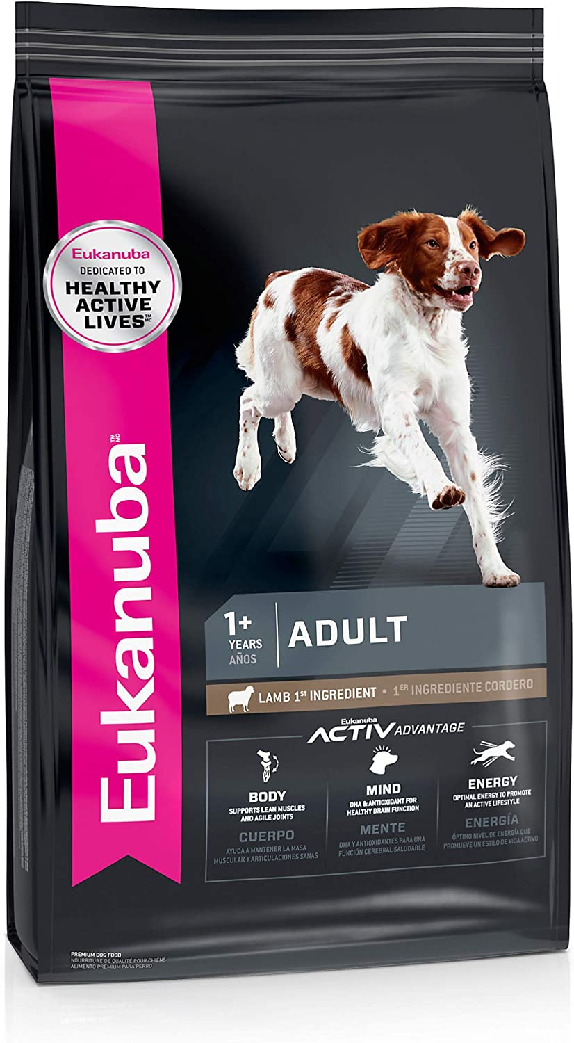 Eukanuba Adult Dry Dog Food Lamb & Rice