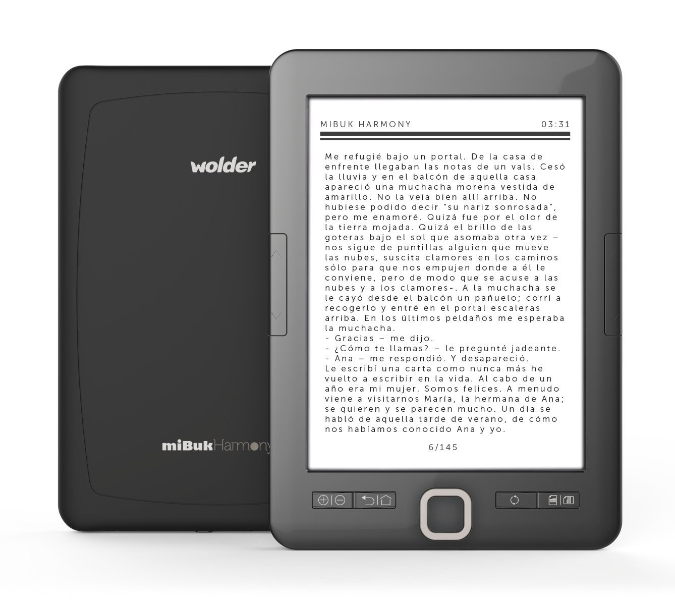 miBuk Harmony - Tablet eBook (6