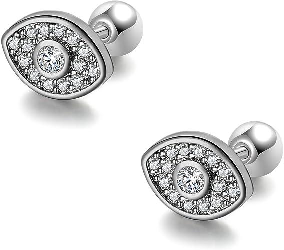 Piercing,Cartilage Earring,Helix Auricle Lobe,Ear Stud Barbell-Surgical Steel